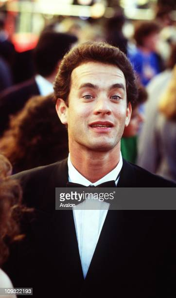 American Actor Tom Hanks at the 1989 Academy Awards