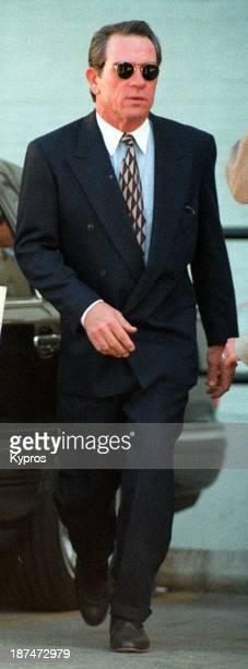 American actor Tommy Lee Jones circa 1990