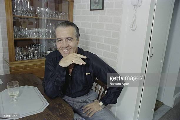 American actor Tony Sirico at his home in Bensonhurst New York City 17th May 1990