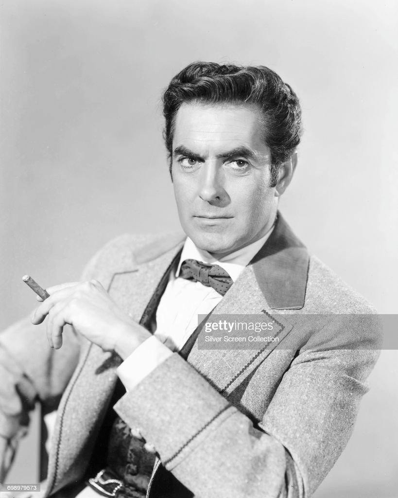 Tyrone Power In The Mississippi Gambler : News Photo