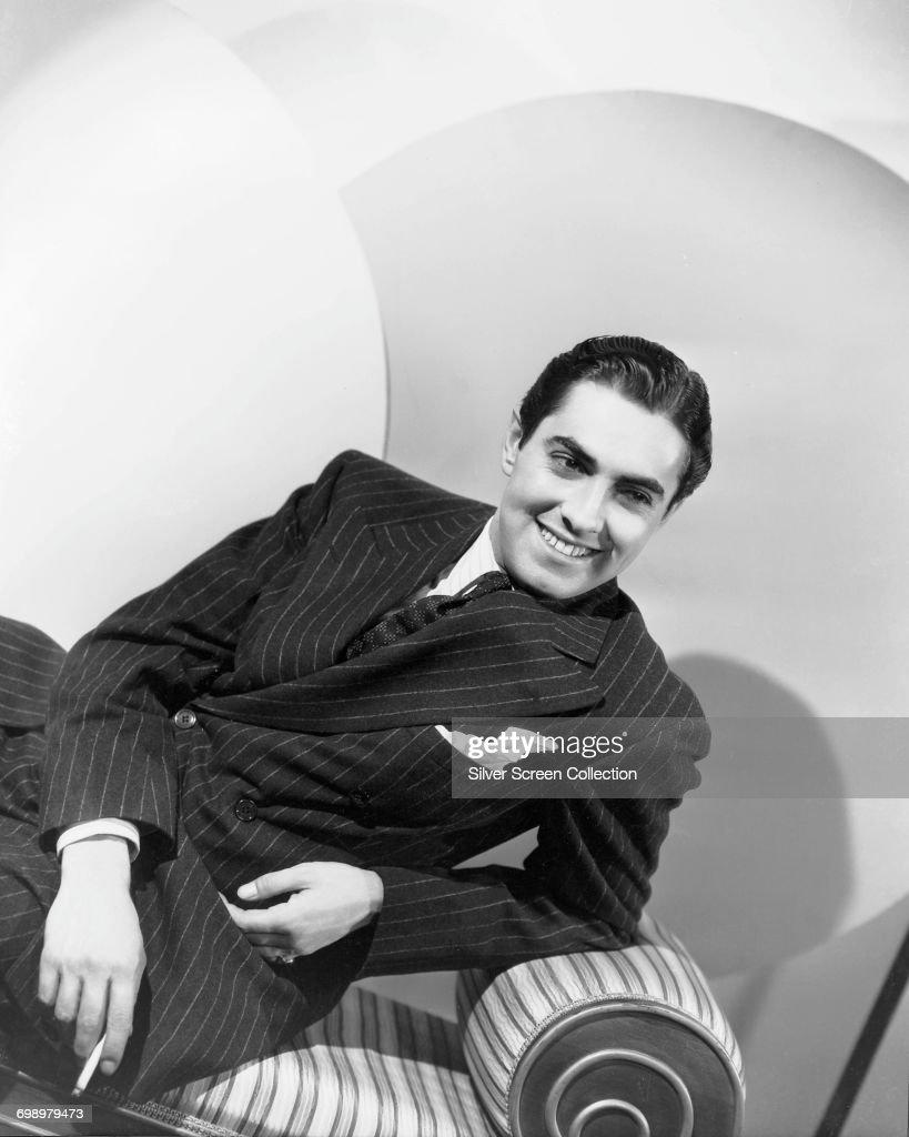 American actor Tyrone Power (1914 - 1958), circa 1945.