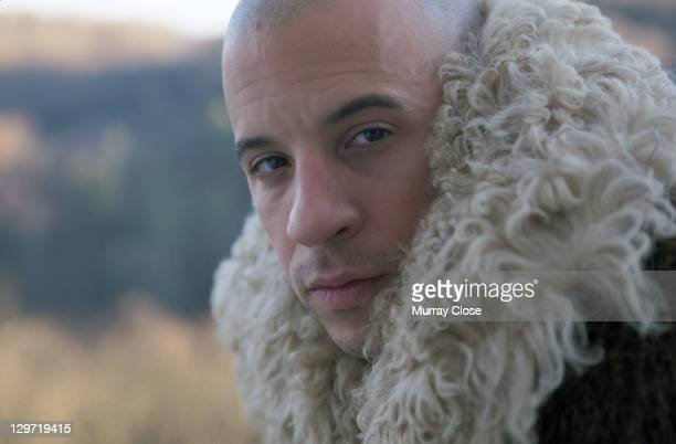 American actor Vin Diesel as Xander Cage in a publicity still for the film 'xXx', 2002.