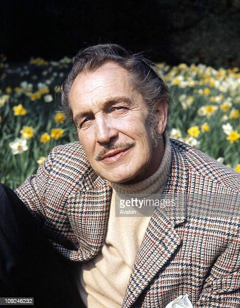 American Actor Vincent Price
