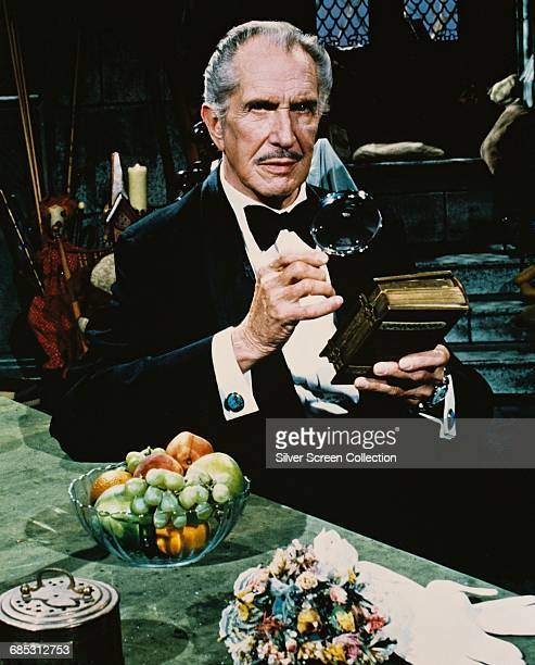 American actor Vincent Price as Jason Winters in the television series 'Time Express' 1979