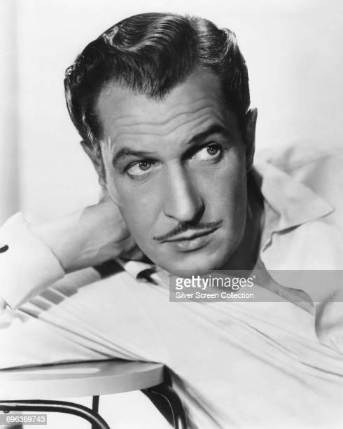 American actor Vincent Price circa 1950