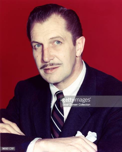 American actor Vincent Price circa 1960