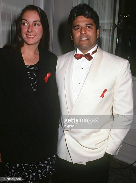 American actor voice actor and police officer Erik Estrada and girlfriend Nanette Mirkovich attend the 22nd Annual Nosotros Golden Eagle Awards at...