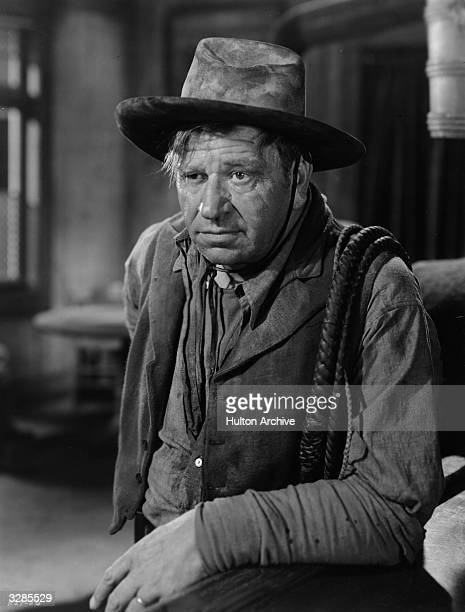 American actor Wallace Beery in a scene from the film '20 Mule Team', directed by Richard Thorpe for MGM.
