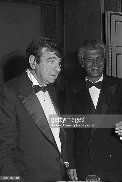 American actor Walter Matthau during the Tribute To Ingrid Gala Lido Venice 1983