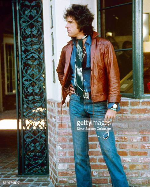 American actor Warren Beatty as hairdresser George Roundy in the film 'Shampoo' 1975