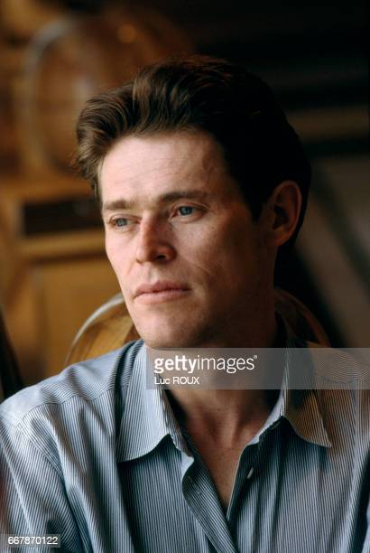 American actor Willem Dafoe during the Cannes Film Festival
