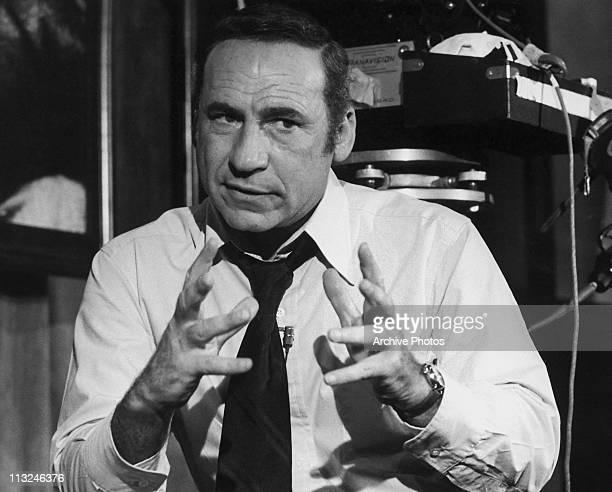 American actor writer and film director Mel Brooks circa 1970