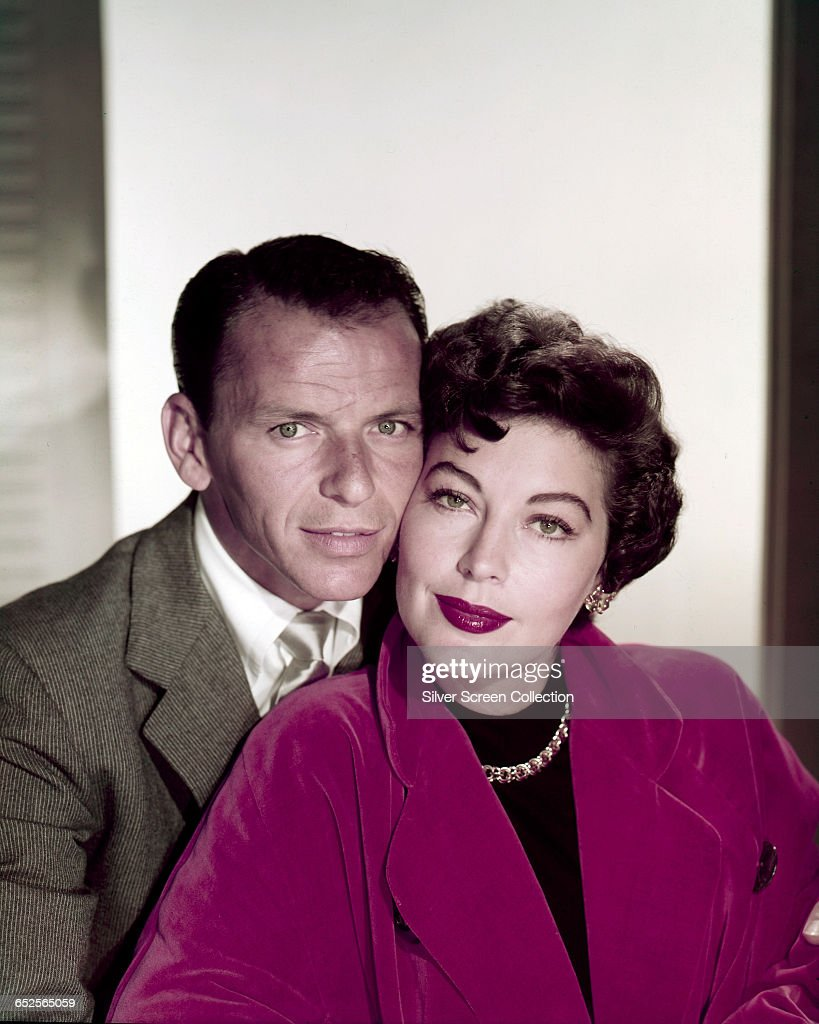 Frank Sinatra And Ava Gardner : News Photo