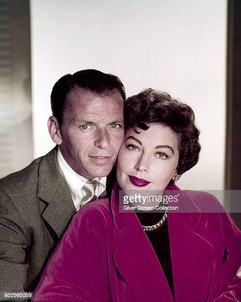 American actors and singers Frank Sinatra and Ava Gardner circa 1953 The couple were married between 1951 and 1957