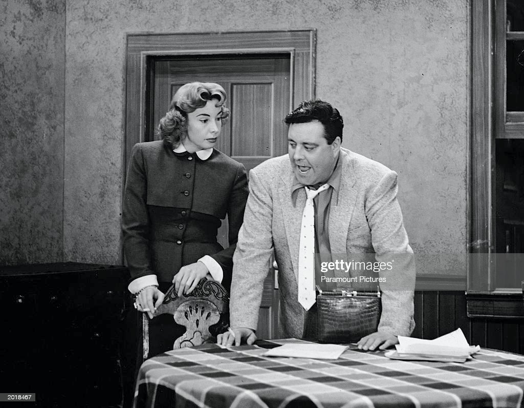 Audrey Meadows And Jackie Gleason, 'The Honeymooners.'  : News Photo