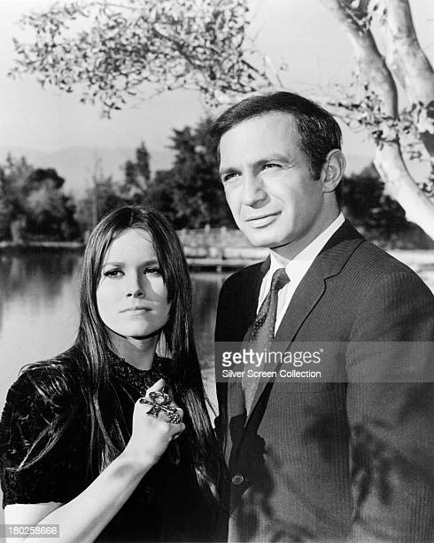 American actors Ben Gazzara as Paul Bryan and guest star Barbara Hershey as SaroJane in 'SaroJane You Never Whispered Again' an episode in the US TV...