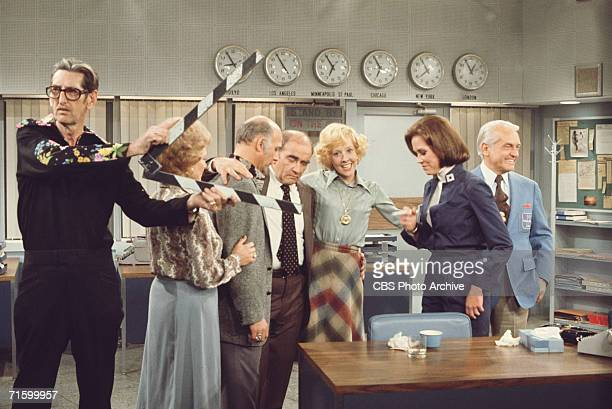 American actors Betty White as Sue Ann Nivens Gavin McLeod as Murray Slaughter Ed Asner as Lou Grant Georgia Engel as Georgette Franklin Baxter Mary...