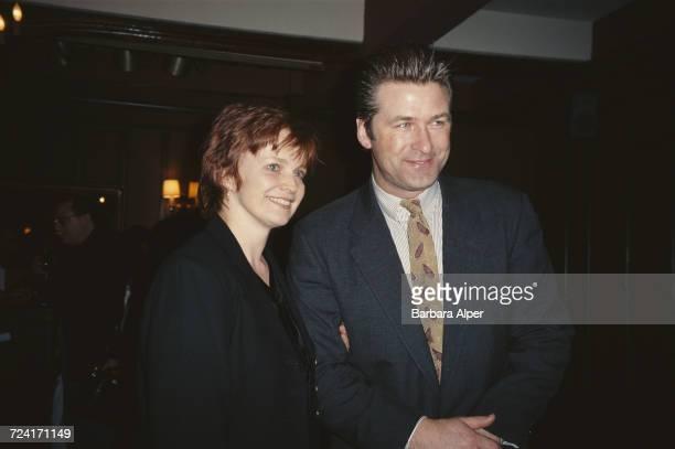 American actors Blair Brown and Alec Baldwin, 16th January 1995.
