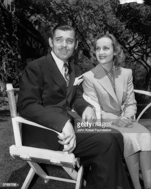 American actors Clark Gable and Carole Lombard after they eloped The couple first met when they starred opposite each other in 'No Man of Her Own'