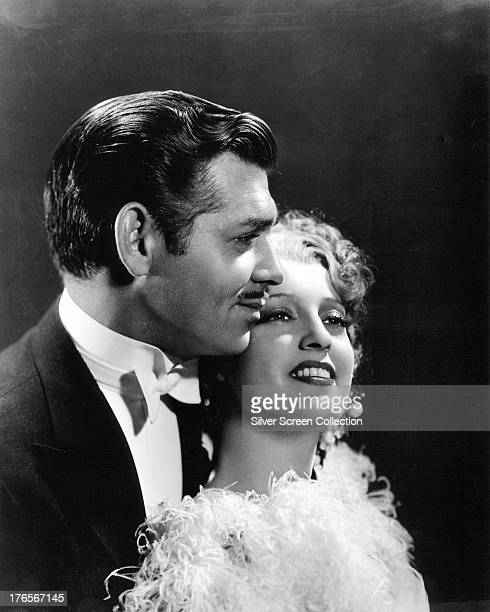 American actors Clark Gable and Jeanette MacDonald in a promotional portrait for 'San Francisco' directed by Woody Van Dyke 1936