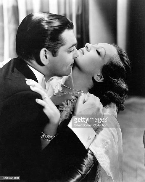 American actors Clark Gable as Mark Whitney and Joan Crawford as Marian Martin in 'Possessed' directed by Clarence Brown 1931
