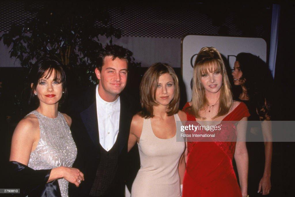 'Friends' Cast Members : News Photo