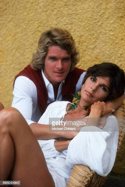 American actors Dean Paul Martin and Ali MacGraw on the set of Players by British director Anthony Harvey