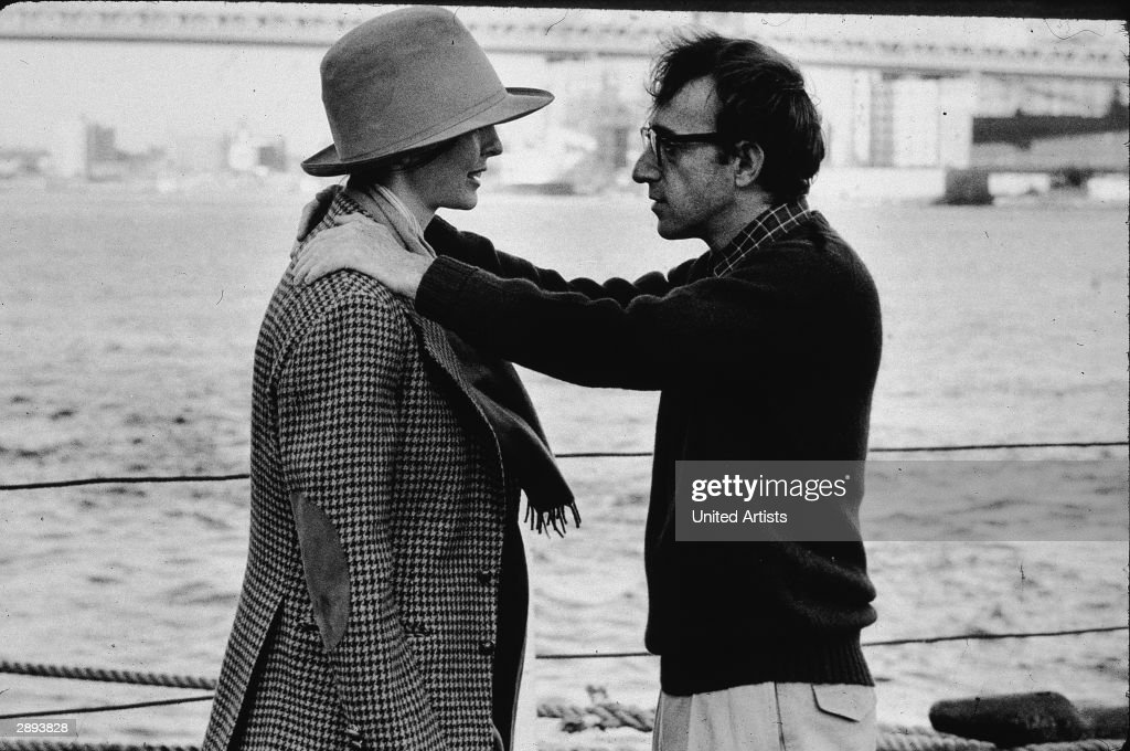 Diane Keaton & Woody Allen In 'Annie Hall' : News Photo