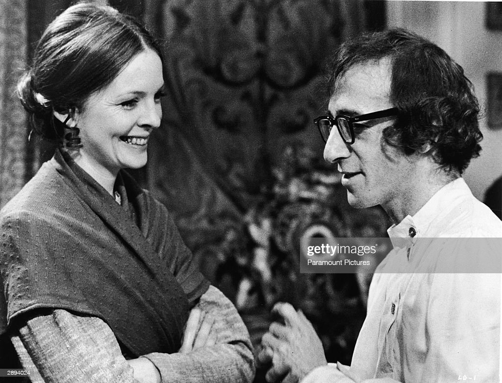 Diane Keaton In & Woody Allen In 'Love And Death' : News Photo