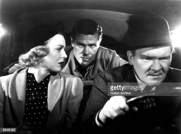 American actors Gloria Stuart , Paul Kelly and Paul Hurst in the 20th Century Fox production 'Island In The Sky'.