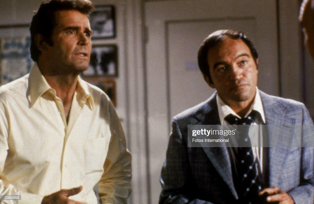 J. Garner & J. Santos In 'Rockford Files' : News Photo