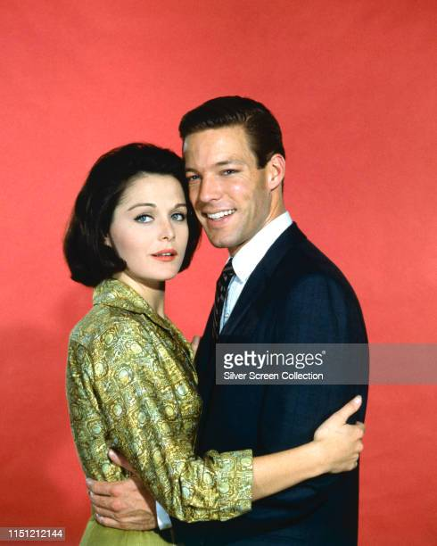 American actors Joan Blackman and Richard Chamberlain circa 1963 They costar in the 1963 film 'Twilight of Honor'