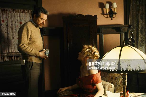 American actors Kevin Kline and Meryl Streep on the set of Sophie's Choice written directed and produced by Alan J Pakula