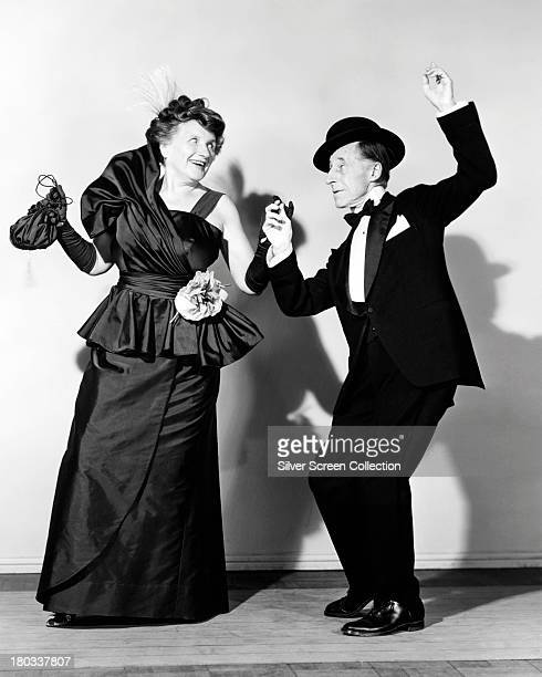 American actors Marjorie Main and Percy Kilbride as Ma and Pa Kettle in a promotional portrait for 'Ma and Pa Kettle on Vacation' directed by Charles...