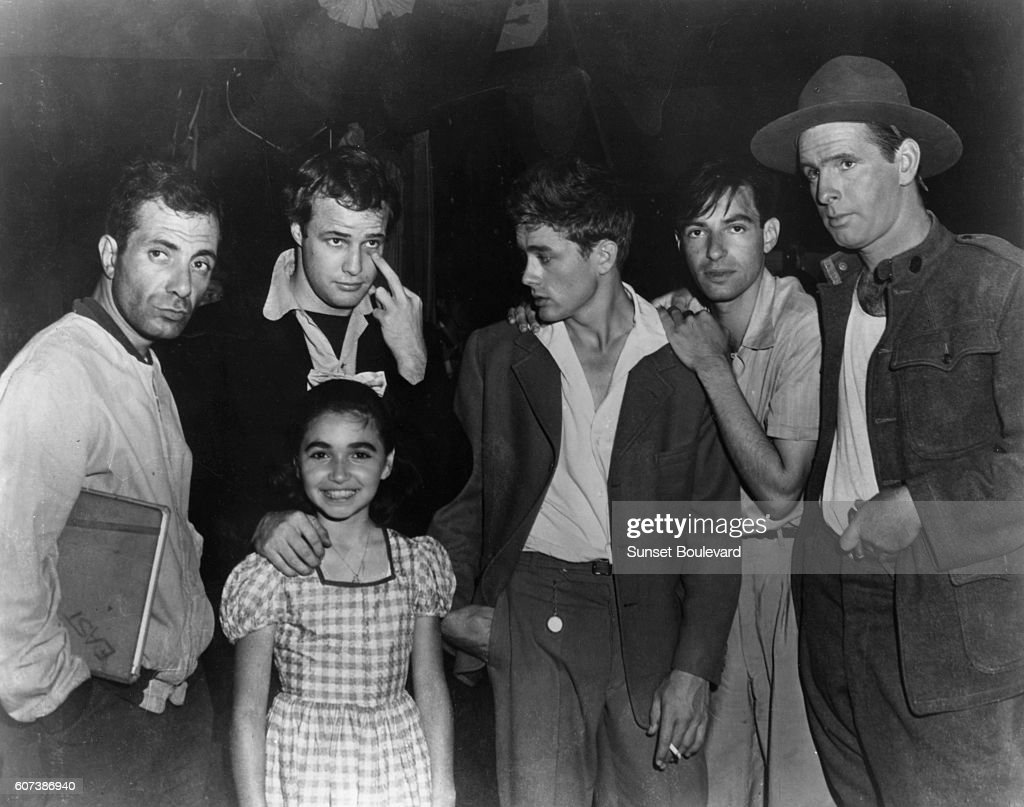 On the set of East of Eden : News Photo
