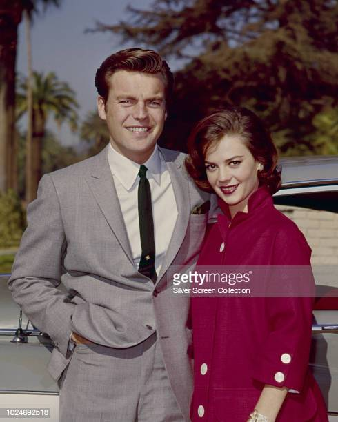 American actors Natalie Wood and Robert Wagner circa 1960
