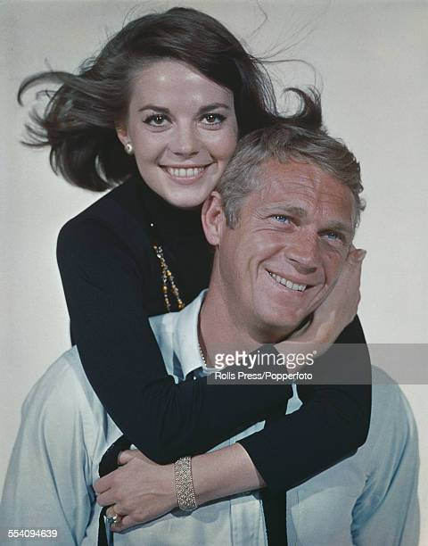 American actors Natalie Wood and Steve McQueen who appear together in the film 'Love with the Proper Stranger' pictured together in 1963