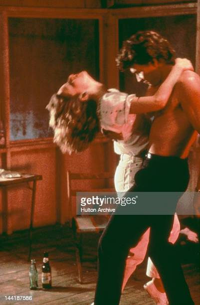 American actors Patrick Swayze and Jennifer Grey star in the film 'Dirty Dancing', 1987.