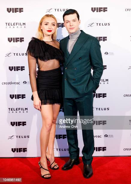 American actors Peyton List and Cameron Monaghan attend the VIFF BC Spotlight Gala And World Premiere of Anthem of a Teenage Prophet on October 6...