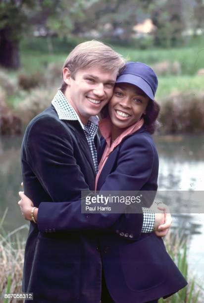American actors Richard Thomas and Faye Hauser stars of the TV miniseries 'Roots The Next Generations' circa 1979