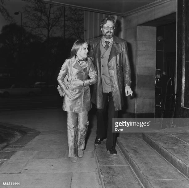 American actors Robert Culp and Sheila Sullivan 8th March 1971