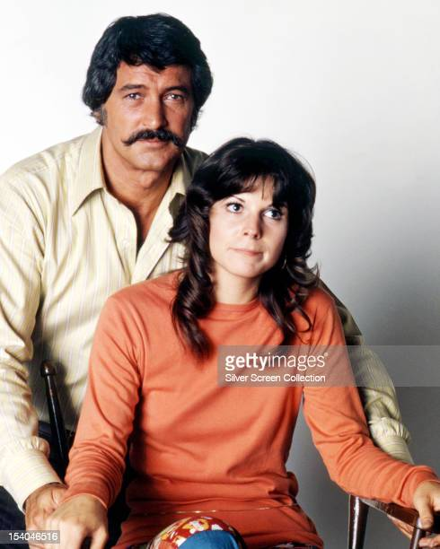 American actors Rock Hudson as Stewart 'Mac' McMillan and Susan Saint James as Sally Hull McMillan in the American TV series 'McMillan Wife' circa...