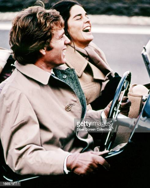 American actors Ryan O'Neal and Ali MacGraw as Oliver Barrett IV and Jenny Cavalleri in a scene from 'Love Story' directed by Arthur Hiller 1970