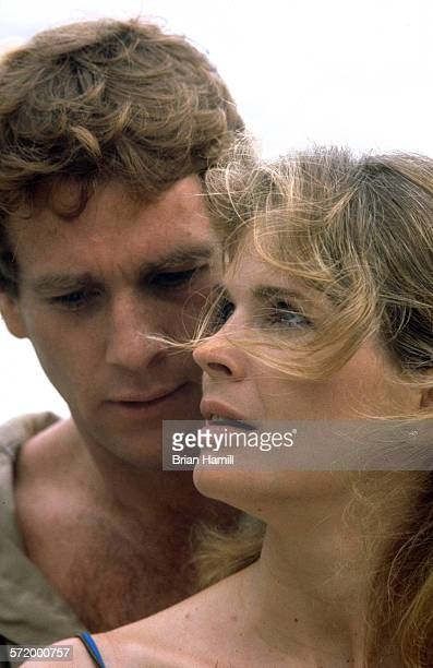 American actors Ryan O'Neal and Candice Bergen in the film 'Oliver's Story' New York 1978