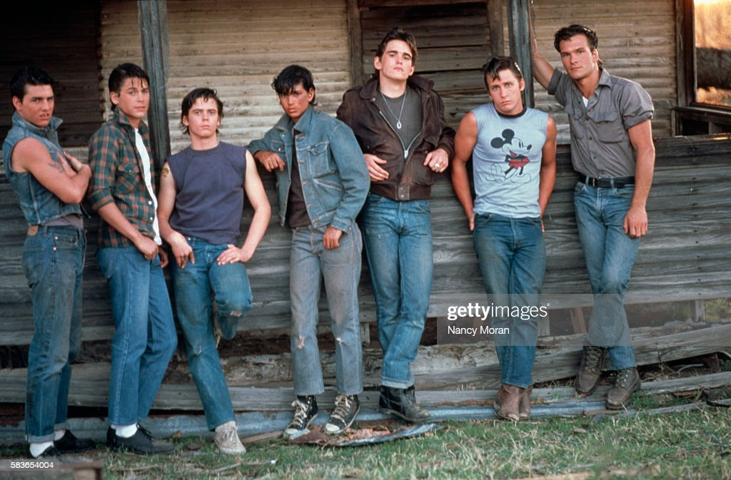 On the Set of The Outsiders : News Photo