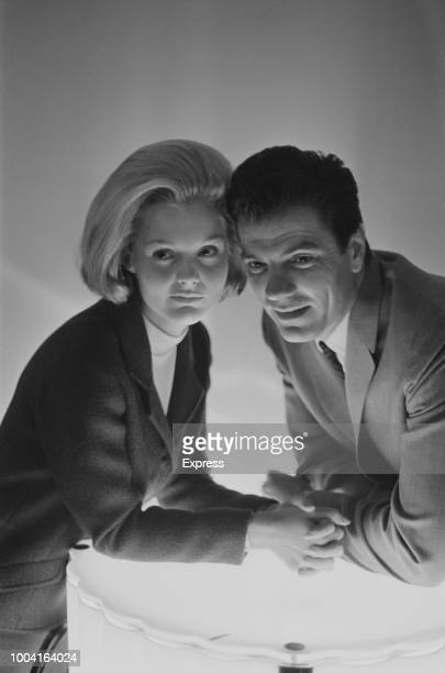 American actors Tom Tyron and Carol Lynley who star together in the film The Cardinal pictured together on 17th December 1963
