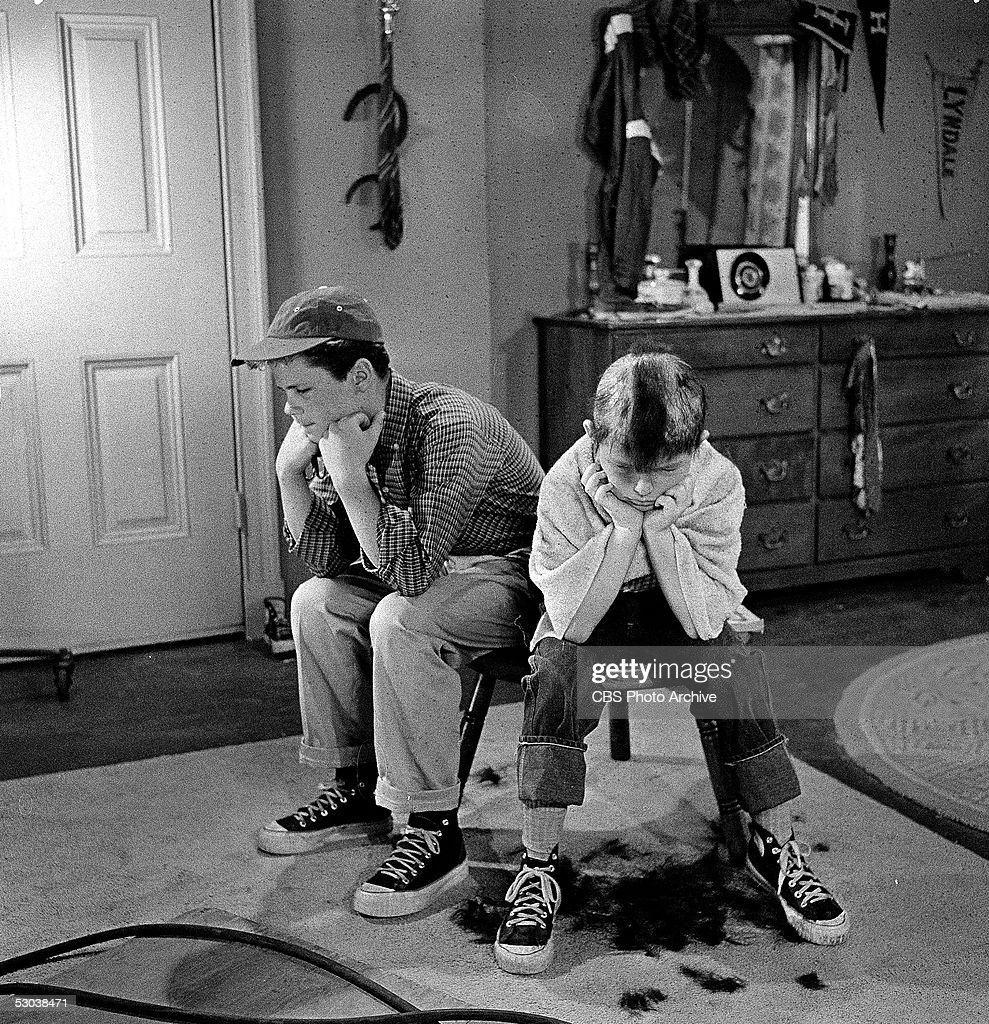 Dow & Mathers In 'Leave It To Beaver' : News Photo