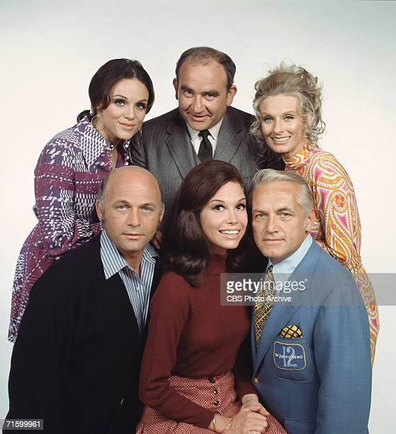 American actors Valerie Harper as Rhoda Morgenstern Ed Asner as Lou Grant Cloris Leachman as Phyllis Lindstrom Gavin McLeod as Murray Slaughter Mary...