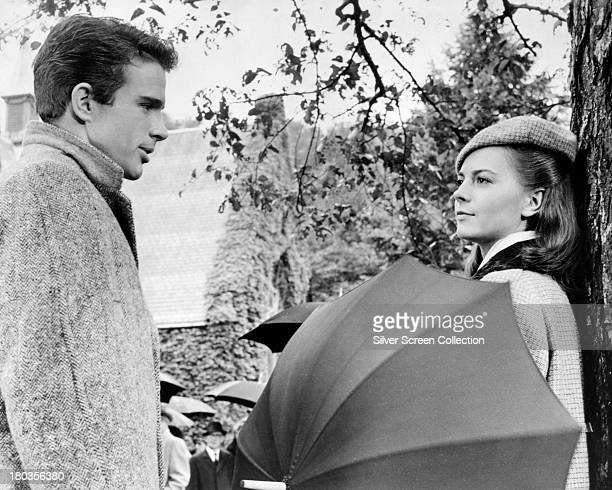 American actors Warren Beatty as Bud Stamper and Natalie Wood as Wilma Dean Loomis in 'Splendor In The Grass' directed by Elia Kazan 1961