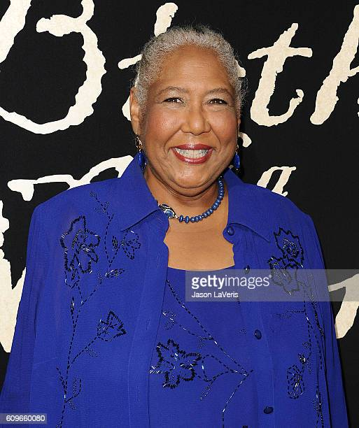 """American actress Actress Esther Scott attends the premiere of """"The Birth of a Nation"""" at ArcLight Cinemas Cinerama Dome on September 21, 2016 in..."""